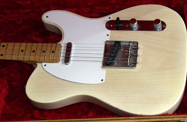 Callaham White Tele Pickguards The Gear Page